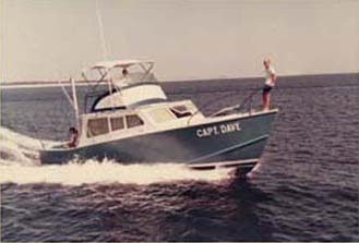 The Capt. Dave, my father's charter boat (1967)