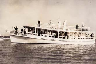 One of my dad's first party boats, the Miss Clearwater