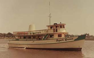 The original Super Queen after launching (1966)